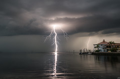 Summer is coming to an end (D~P~B) Tags: lightning storm summer nature water passion hudson florida nikon d5300
