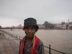 Indian child (avati91) Tags: india hindu haridwar portrait gange river