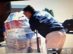 Hollander Storage and Moving, Triton College, Hurricane Relief Drive, Channel 5 News, NBC, Chicago, 9/18/2017, (Picture Proof Autographs) Tags: hollanderstorageandmoving hollanderinternational tritoncollege hurricanereliefdrive channel5news chicago nbc fred weichmann frederick robwendland billherbold pattifairman unitedvanlines hollander chairity vanlines mayflowervanlines unitedway united mayflower moving allied alliedvanlines trucks semi truck