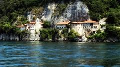 Hermitage (Luc1659) Tags: hermitage italy lago lombardia lagomaggiore eremo vacanze relax silenzio battello