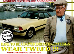 Modern Clothes tweed man part 2 (MemoryCube5000) Tags: tweedjacket tweedcap man mens gents cavalrytwill retro car cars auto autos vehicle vehicles transport tweed flat cap harris fashion club rally vintage nz kiwi newzealand thetweedrun distinguished menswear canon outdoor poster people art words dapper wearingtweed manwearing oldschool british old innewzealand run drive ride invercargill dunedin oamaru christchurch nelson wellington wanganui plamerstonnorth newplymouth hastings napier gisborne rotorua tauranga auckland hamilton whangarei queenstown vintagecarclub oldcar canterbury otago sydney london scottish uk english melbourne country fordcortina 1980s