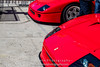 Red-Ferrari-F40-sports-car-in-sydney-by-la-lente-photography-next-to-another-f40 (Paul D'Ambra - Australia) Tags: car red ferrari sportscar redsportscar redferrari vehicle motorvehicle redf40