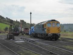 33102 'Sophie' Cheddleton - Churnet Valley Railway 24/09/2017 (SFTimperley) Tags: class33 cheddleton churnetvalleyrailway
