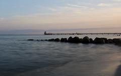 Sonnenuntergang in Grömitz (kalakeli) Tags: grömitz august 2017 ostsee balticsea sonnenuntergang sunset pier landungssteg landungssteggrömitz longexposure langzeitbelichtung 13secs