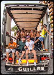 Benidorm Pride September 2017. (CWhatPhotos) Tags: benidorm gay pride 2017 benidormgaypride benidormgaypride2017 girls car cwhatphotos bonnet bony spain spanish resort costa blanca photographs photograph pics pictures pic picture image images foto fotos photography artistic that have which with contain em10 omd olympus esystem four thirds digital camera lens olympusem10 mk ii 43 mft micro seaside holiday september gaypride2017 march parade along front promenade color colors colours colour people happy fun times portrait portraits drag trans transvestites transvestite women men