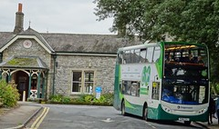 Grange over Sands (Andrew Stopford) Tags: px61cvj scania n230ud adl enviro400 stagecoach grangeoversands 6x6thefurnessconnect