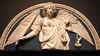 Saint Michael weighing Souls (Lawrence OP) Tags: michael archangel souls lastjudgement scales mma nyc metropolitanmuseum andreadellarobbia