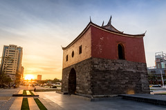 風華絕代承恩門 - Sunset with Cheng-En Gate (basaza) Tags: 北門 承恩門 canon 760d sunset 1635 古蹟
