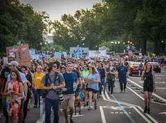2017.08.13 Charlottesville Candlelight Vigil, Washington, DC USA 8079