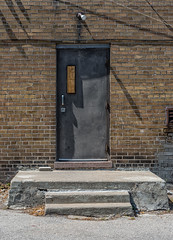 Back Door (Yewbert The Omnipotent) Tags: toronto canada lightroom urban city nikon d750 urbex dilapidated etobicoke apartments rundown colourful contrast colour color