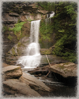 Cowsheds Falls - Textured