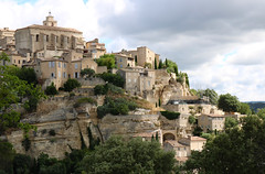 Provence Village (Anna Sikorskiy) Tags: village architecture historic old vintage beauty sky skyline clouds summer season buildings trees landscape colors lines design artistic concept europe france provence canon canonrebelt6i explore panorama urban