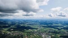 Mittellandquerung - Blick ins Flachland