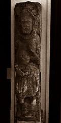 20 - Musée de Dieppe - Accueil... (melina1965) Tags: normandie seinemaritime août august 2017 nikon d80 dieppe sculpture sculptures statue statues sépia sepia