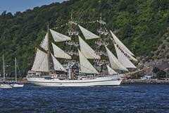 Tall Ship Guayas (A.Joseph Images) Tags: tallship ship boat quebec water blue sky sail canada stlawrenceriver river vacation landscape