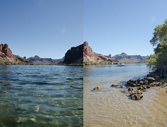 Parker, AZ Double (Kevin T. Birdt) Tags: parker az havasu river water shallow nature clear d7000 kevin birdt kbirdt