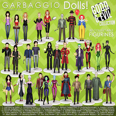 Garbaggio Dolls Good&Evil Collection Gacha Key (Ashleey Andrew) Tags: garbaggio sl secondlife second life virtual world original mesh dolls gacha doll toys figurines collectible parody parodies halloween good evil