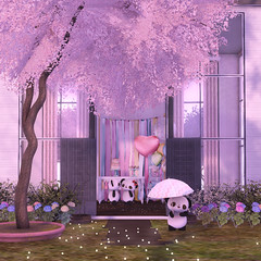 #171 (Prettybubbles.) Tags: whimsical kawaiiproject lagom tspot yourdreams sl secondlife n21 dustbunny