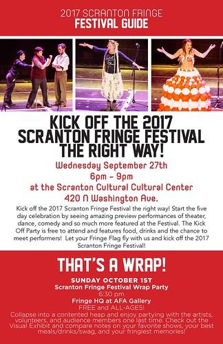 2017 Scranton Fringe Festival Schedule 3