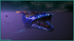 Beauté interstellaire (Tim Deschanel) Tags: tim deschanel sansar exploration paysage landscape sombre dark rêve dreams baleine secrets worldwhale teager whale