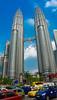 Petronas Towers (Theo Crazzolara) Tags: petronas towers menara twin kuala lumpur skyscraper builing cars verkehr mobility city street malaysia asia malaysien asien petronastowers