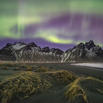 'A Stellar Show' - Stokksnes, Iceland thumbnail