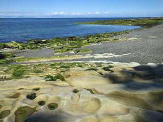 Sandstone and pebbles on Galiano