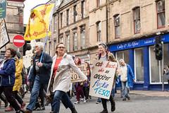 Perth Anti Fascist Demo (10 Sept 17) (johnawatson) Tags: antifascist perth demonstration scotland ef2470mmf4lisusm canon80d activism politicalprotest antiracism politics scottishpolitics eos