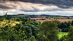 Just before the rain (jayneboo) Tags: 365 shropshire landscape leebrockhurst rain heavy clouds