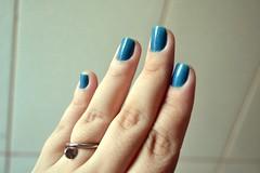 Esmalte Risqué Husky - coleção Love Dogs (GatoQueFlutua) Tags: resenha beleza esmalte unha risque azul debbcabral