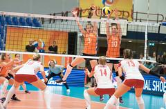 49151845 (roel.ubels) Tags: nederland oranje holland polen poland polska amsterdam sporthallen zuid volleybal volleyball oefenwedstrijd sport topsport 2017