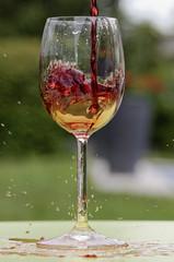 Verre, vin, essai (Dr Pitch) Tags: vin verre rouge