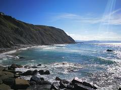 Marea alta en Barrika (eitb.eus) Tags: eitbcom 30864 g1 tiemponaturaleza tiempon2017 costa bizkaia barrika koldomedrano