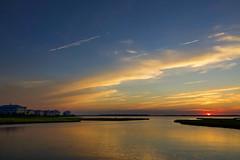 When the sun goes down ... (joscelyn_p) Tags: oceancitymaryland oceancity ocmd oc md maryland sunset sunsets travel canon lightroom