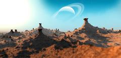 Moon X (eXalk) Tags: planet art abstract design digital dream deep fantasy fractal fragmentarium grafik geometric landscape stone organic