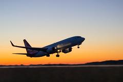 Взлёт Boeing 737-800 Ikar