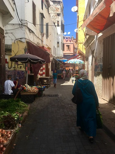 Dans la vieille médina de Casablanca.