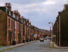 Back to back (DH73.) Tags: garnet grove hunslet leeds back terraced housing victorian