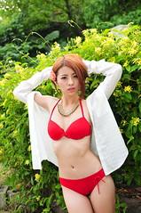 Sherry0019 (Mike (JPG直出~ 這就是我的忍道XD)) Tags: sherry 自來水博物館 d300 model beauty 外拍 portrait 2014 swimsuit 泳裝