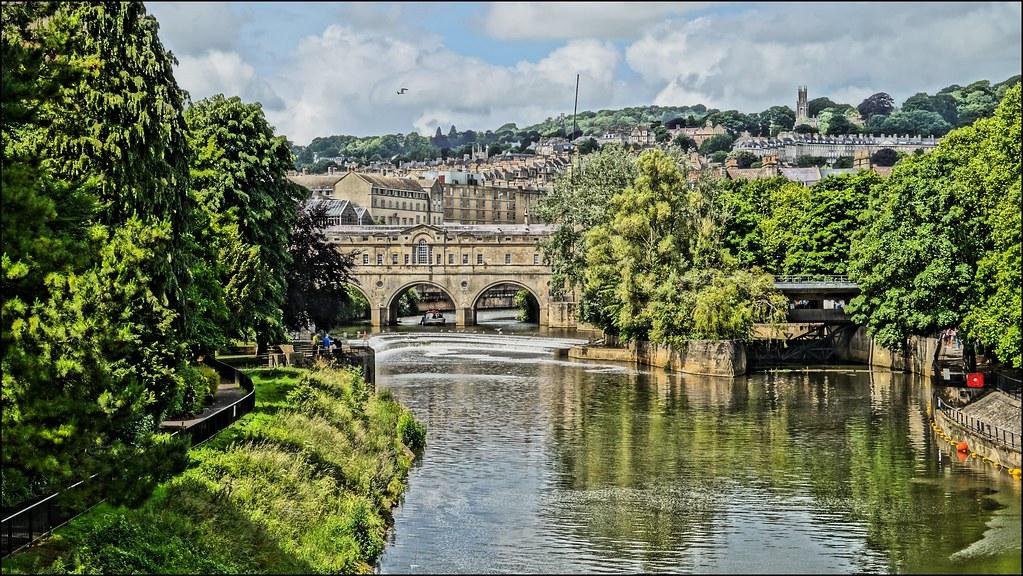 Bath Stadt