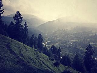 Village Kashmir Beauty Kashmir Dodhpathri Picnic IPhoneography TreePorn Mountain Cloud - Sky Nature_collection at doodhpathri