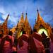 The Night of Offerings at the Shwedagon Pagoda (Yangon, Myanmar 2013)
