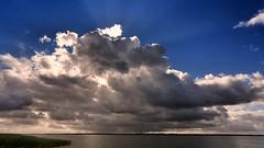 Eye of the Beholder (Marcus Rahm) Tags: clouds cloudy wolken saalerbodden mecklenburgvorpommern himmel sky water wasser sommer summer