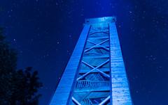Lightpainting Aussichtsturm Friedenshöhe (thieschi) Tags: sonyslta77tamronlightpaintingaussichtsturmfriedenshöhe melle niedersachsen deutschland