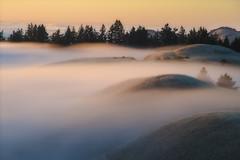 Fog Covered Hills (jojo (imagesofdream)) Tags: mount tamalpais marin county california fog landscape