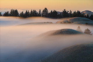 Fog Covered Hills