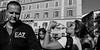 Thirsty work. (Baz 120) Tags: candid candidstreet candidportrait city candidface candidphotography contrast street streetphoto streetcandid streetphotography streetphotograph streetportrait rome roma romepeople romecandid romestreets em5 europe mft m43 monochrome monotone mono blackandwhite bw urban voightlander12mmasph life primelens portrait people unposed omd olympus women italy italia girl grittystreetphotography faces decisivemoment strangers