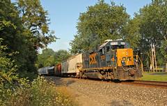D750 in Warwick (craigsanders429) Tags: csxtrains csx csxnewcastlesubdivision clintonohio csxinclintonohio csxlocals csxlocomotives csxmotivepower csx2529