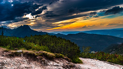 Sunset in Tatras (karmanskipro) Tags: sunset tatra zakopane poland mountains giewont