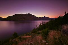 Dawn at  Lake Wakatipu (lfeng1014) Tags: dawnatlakewakatipu lakewabukayne queenstown otago southisland newzealand nz colourfulmorning landscape longexposure 2minutes leefilters canon5dmarkiii ef1635mmf28liiusm travel lifeng